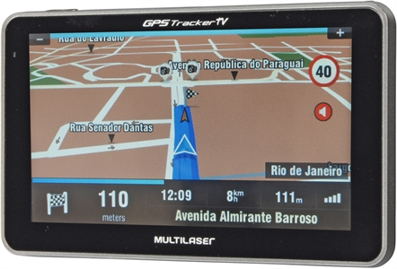 MULTILASER Gps Tracker III 5 C/ Tv+fm - Gp036