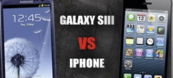 iPhone 5 ou Galaxy S3: qual é o melhor?