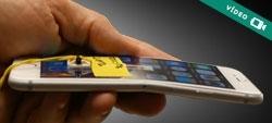Vídeo: O novo iPhone 6 entorta?